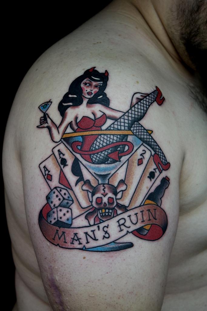man's ruin
